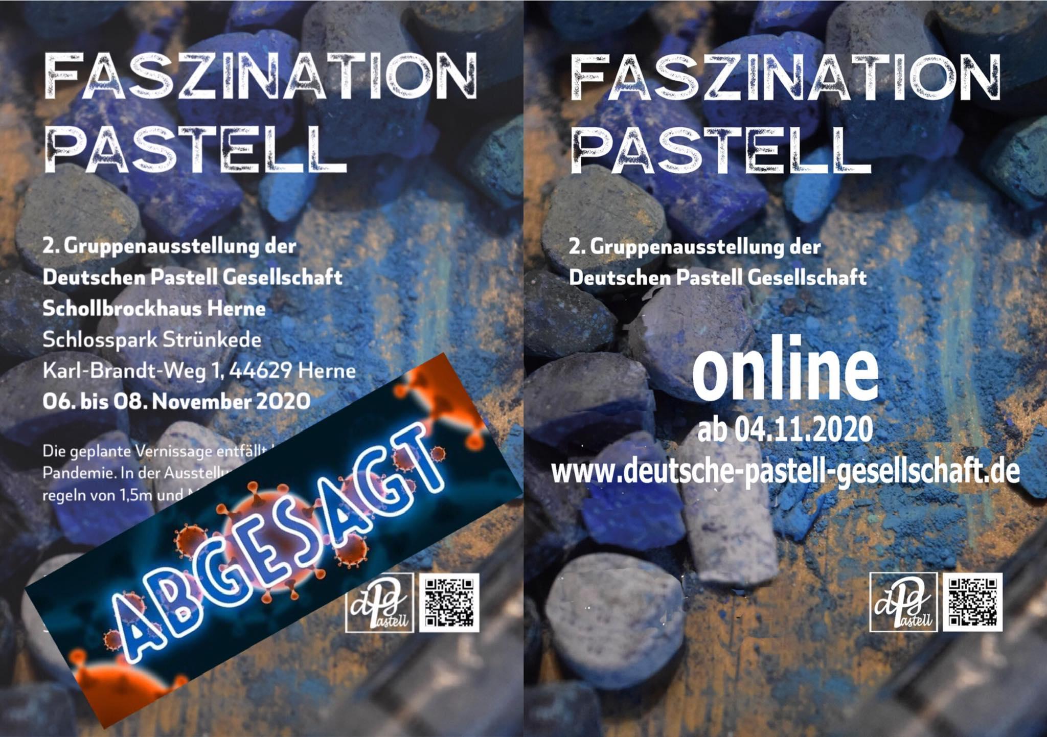 Faszination Pastell – 06. November bis 08 November