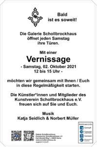 Vernissage – Kunstverein Schollbrockhaus öffnet die Türen